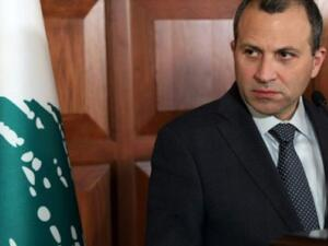 Lebanese Foreign Minister Gebran Bassil (AFP/File)