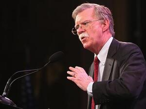 U.S. National security advisor John Bolton. (AFP/ File Photo)