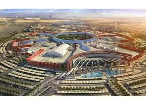 Garden-themed Cityland Mall is coming up near Global Village next year. (KhT)