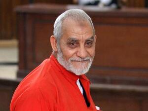 Mohamed Badie, leader of the Muslim Brotherhood of Egypt is to continue his life sentence (AFP/File Photo)