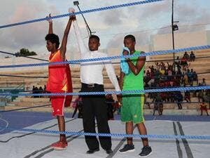 Somalia holds first boxing competition since civil war  (Twitter)