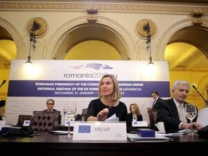 Federica Mogherini EU Foreign Minister on INF (Twitter)