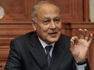 The head of the Arab League Ahmed Aboul Gheit (Twitter)