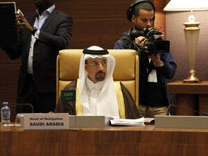 Saudi Arabia's Energy, Industry and Mineral Resources Minister and chairman of Saudi Aramco, Khalid Al-Falih. (AFP/ File)