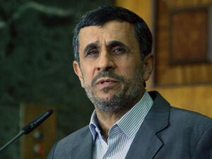 Mahmoud Ahmadinejad has called on Ayatollah Ali Khamenei to hold early presidential and parliamentary polls (AFP/File Photo)