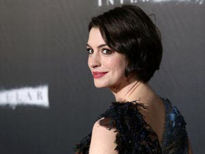 "Anne Hathaway is in talks to star in a film adaptation of ""The Last Thing He Wanted."" (Source: JStone - Shutterstock)"