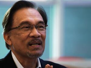 Former Malaysian opposition leader Anwar Ibrahim was released from jail. (AFP/ File Photo)