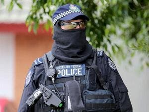 An Australian Federal Police officer during a counter-terrorism operation in Sydney. (AFP/ File Photo)