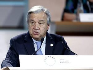 United Nations Secretary General Antonio Guterres (Twitter)