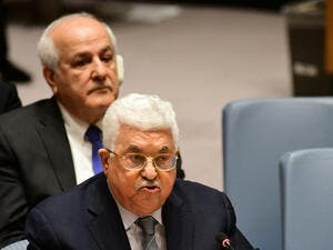 Palestinian Authority President Mahmoud Abbas (Shutterstock/File Photo)