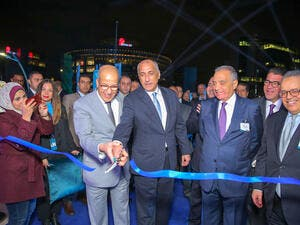 Senior Egyptian officials, including the Central Bank of Egypt Governor, and Board members of Bank ABC attended inauguration ceremony.