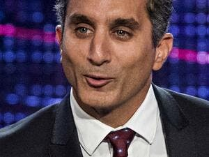Bassem Youssef was saddened by parliamentary members' performances during the inaugural session of Egypt's House of Representatives held on Sunday. (File photo)