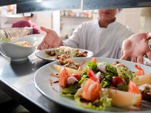 Eat' Bahrain market offering currently includes 80 restaurants, including Michelin-led restaurants CUT by Wolfgang Puck and Masso by Chef Susy Massetti. (Shutterstock)