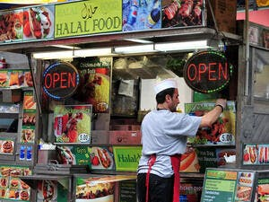 Halal food, the largest Islamic economy pillar by revenue, has shown clear signs of maturity with increased private equity investments in the sector. (Shutterstock/Chameleons Eye)