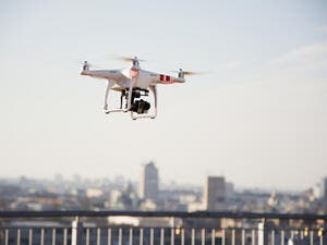 From a civil aviation perspective, drones are key to promoting the Dubai Smart Government Vision, and the DCAA are ensuring flight safety of Dubai's airspace. (Shutterstock)