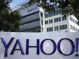 Yahoo! headquarters in Sunnyvale, California, 2014. (AFP/Justin Sullivan)