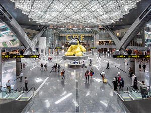 Hamad International Airport in Doha, designed by HOK. (HOK)