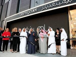 It is only the second time the iconic New York store has opened its doors outside of the US; the first was in Dubai Mall nearly eight years ago. (Photo courtesy of Gulf News)