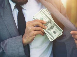 "The index reflected an increase in ""petty corruption"" among some public servants, suggesting that corruption is no longer limited to those with influence and power.  (Shutterstock)"