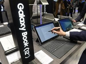 Samsung has not yet released details on price or availability of the new tablets. (AFP/Lluis Gene)