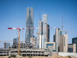 In the GCC, Saudi Arabia has the largest construction market, accounting for more than 33% of the market share, estimated to be valued at over $850 billion. (Shutterstock)