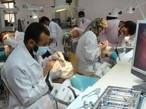 The college of dentistry at University of Dammam. (University of Dammam)