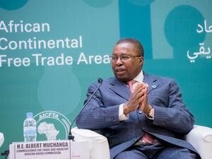 Albert Muchanga, African Union commissioner for trade and industry. (@AmbMuchanga/ Twitter)