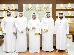 The agreement was signed by H.E. Ali Issa Al Nuaimi, Director General, DED-Ajman and Abdullah Al Shehhi, CEO, Emirates Vision Media Network.