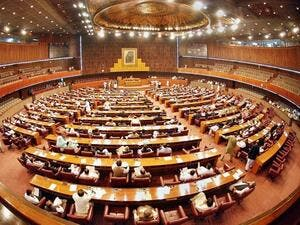 Lower House in Pakistan (Twitter)