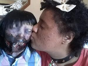 This Woman Says She Is Ready To Marry A Zombie Doll (Twitter)