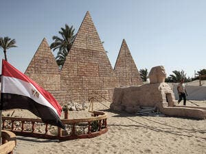 "Amnesty described the law in a statement as ""a catastrophic blow for human rights groups working in Egypt."" (AFP)"