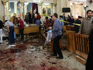 Attack on Egypt's Palm Sunday claimed by Daesh (AFP)