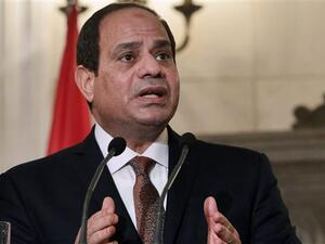 Egypt's President Abdel Fattah el-Sisi revealed that the country will continue supporting South Sudan. (AFP/ File)