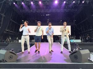 Jack Pack rocking the Dubai stage. (Facebook)