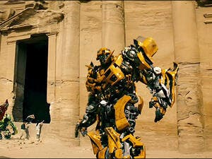 Michael Bay's 'Transformers: Revenge Of The Fallen' was filmed in Petra. (File photo)