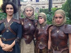 "Indira Varma discussed Ellaria and the Sand Snakes' fate on ""Game of Thrones"" in a new interview. (Indira Varma / Twitter)"