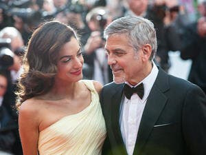 Amal and George Clooney, who've made this possible. (magicinfoto / Shutterstock.com)
