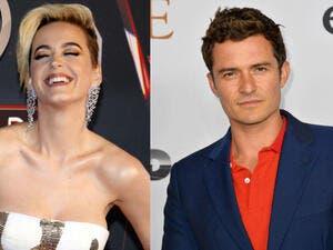 Katy Perry, 33, was still able to find time to catch up with her ex boyfriend Orlando Bloom, 40, in Maldives on Friday according to E!News. (Source: Tinseltown - Jaguar PS - Shutterstock)