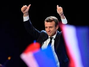 Macron rose to power earlier this year with a promise to increase France's standing in international diplomacy (AFP)