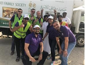 GE Volunteers this Ramadan.