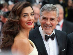 This week actor George opened up about his first meeting with Amal - saying they felt an instant attraction. (Source: magicinfoto - Shutterstock)