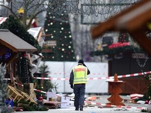 12 people died and 48 people were injured when a truck rammed into a Berlin Christmas market in a suspected terror attack. (AFP/File)