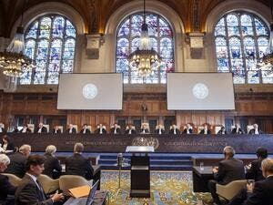 International Court of Justice. (AFP/ File Photo)