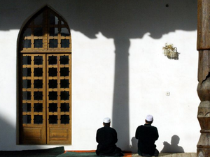 Tajikistan's Muslims have been under fire after clashes with government forces last year. (AFP Photo/Vyacheslav Oseledko)
