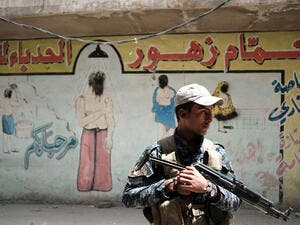 An Iraqi soldier. (AFP/file)