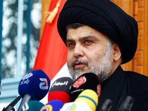Iraqi cleric Moqtada al-Sadr heads to Kuwait in order to improve ties with Gulf countries. (AFP/ File Photo)