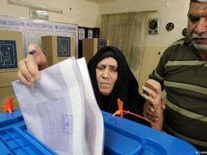 Iraqis security forces, expats start voting in parliamentary elections. (AFP/ File Photo)