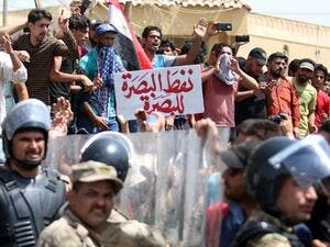 200 protesters gathered at the main entrance of Siba natural gas field on Monday, police and energy sources said, following a week of unrest over poor services. (AFP)
