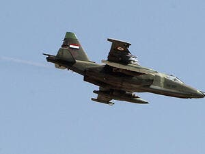 Iraqi Air Forces claim hitting major ISIS position in Syria's northern Al-Hasakah province. (AFP/ File Photo)