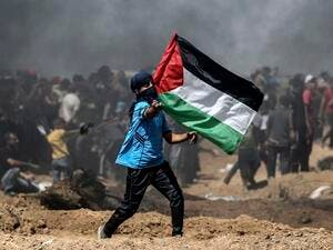 The Israeli military said that it will only allow foods and essential medicines to cross. (AFP)